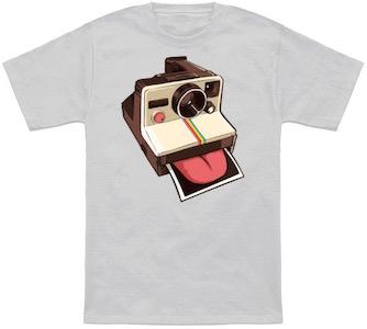Licka Roid Instant Camera T-Shirt