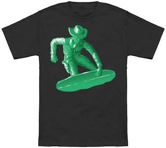 Snowboarding Cowboy T-Shirt