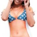 Stars And Stripes Bikini Costume T-Shirt