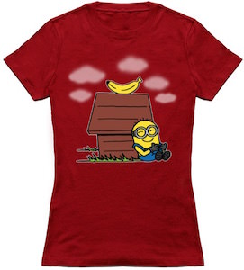 Minion Hanging Around With It's Best Pal T-Shirt