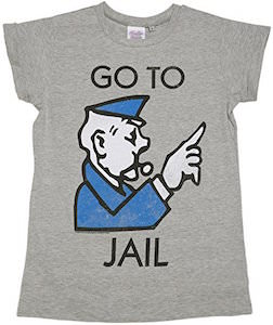 Monopoly Go To Jail T-Shirt