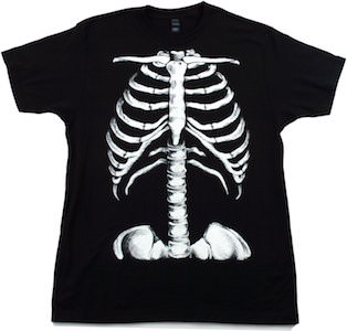 Skeleton Rib Cage Costume T-Shirt