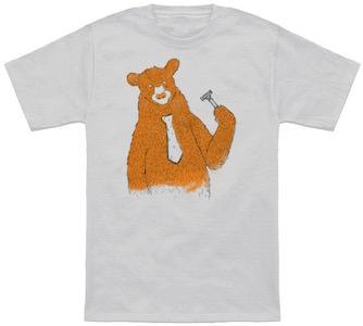 Shaving Bear T-Shirt