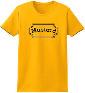 mustard bottle costume t shirt