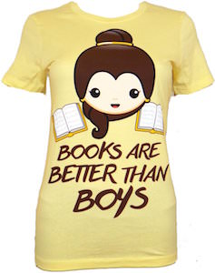 Books Are Better Then Boys T-Shirt