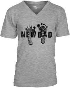 Baby Feet New Dad T-Shirt