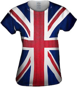 Union Jack Flag All Over T-Shirt