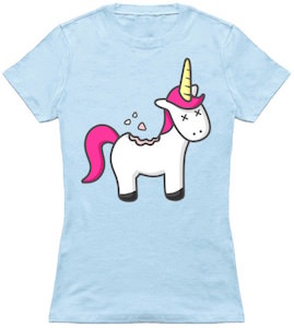 Unicorn Cookie T-Shirt
