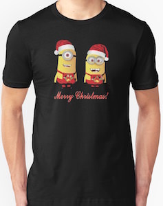 Minion Merry Christmas T-Shirt