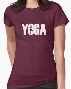 Yoga Logo Pose T-Shirt