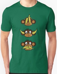 Crazy Monkey Going Banana's T-Shirt