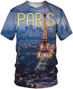 Paris At Night T-Shirt