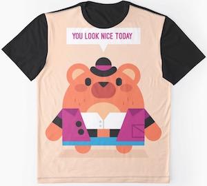 Bear Saying You Look Nice Today T-Shirt