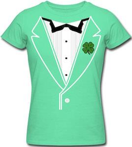 Shamrock Tuxedo T-Shirt