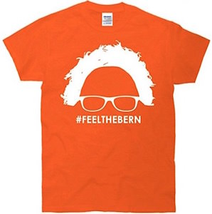 Feel The Bern Head T-Shirt