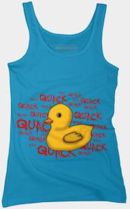 Quack Quack Duck Tank Top