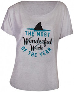 Shark Week The Most Wonderfull Week Of The Year T-Shirt