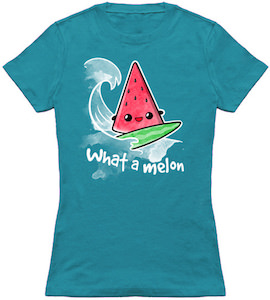 Surfing Watermelon T-Shirt