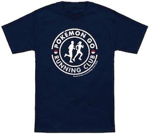 Pokemon Go Running Club T-Shirt