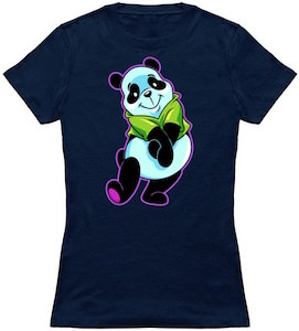 Silly Looking Panda Bear T-Shirt