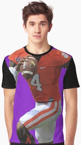 Football Player Costume T-Shirt