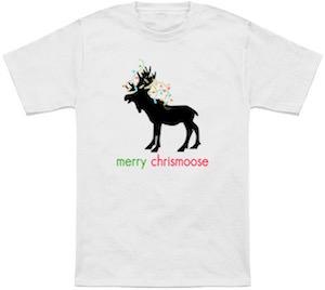 Merry Chrismoose T-Shirt