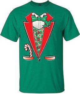 Christmas Tuxedo Costume T-Shirt