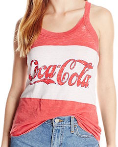 Coca Cola Logo Tank Top