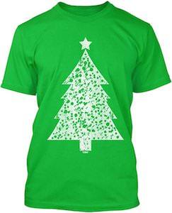 Big White Christmas Tree T-Shirt