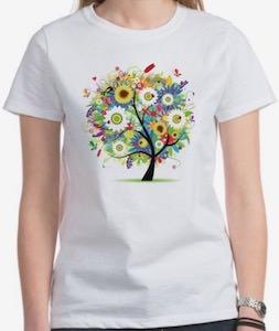 Tree Of Flower T-Shirt