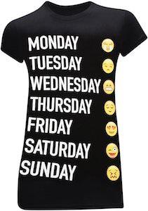 A Week In Emoji's T-Shirt