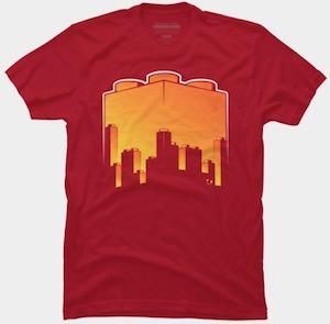 LEGO Brick Skyline T-Shirt