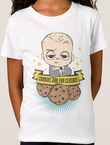The Boss Baby Cookies Are For Closers T-Shirt