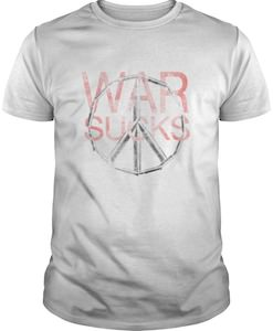 Peace Sign War Sucks T-Shirt