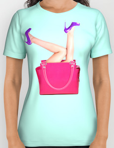 Handbag With Legs Sticking Out T-Shirt