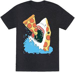 Pizza Shark T-Shirt