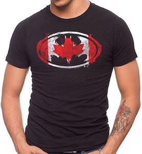 Batman Canada Logo T-Shirt