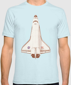 Space Shuttle Atlantis T-Shirt