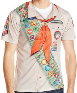 Cougar Scout Costume T-Shirt
