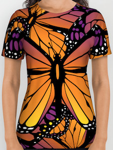 Monarch Butterfly Covered T-Shirt