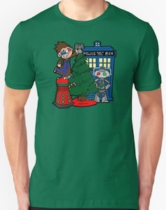 Doctor Who Christmas Tree Decoration T-Shirt