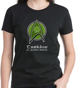 Trekkie St Patrick Edition T-Shirt