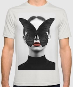 Butterfly Face T-Shirt