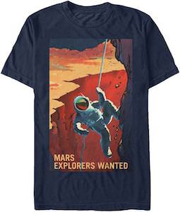 Mars Explorers Wanted T-Shirt