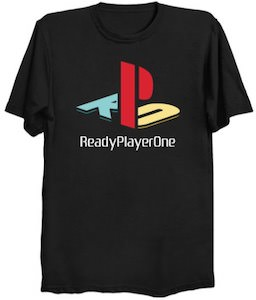 Ready Player One Sony Style T-Shirt