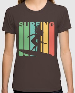 Surfing Girl T-Shirt