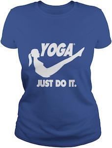 Yoga Just Do It T-Shirt