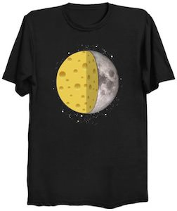 Cheesy Moon T-Shirt