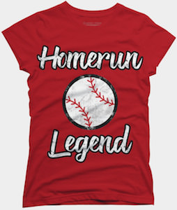 Homerun Legend t-shirt