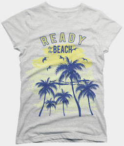 Ready For The Beach T-Shirt